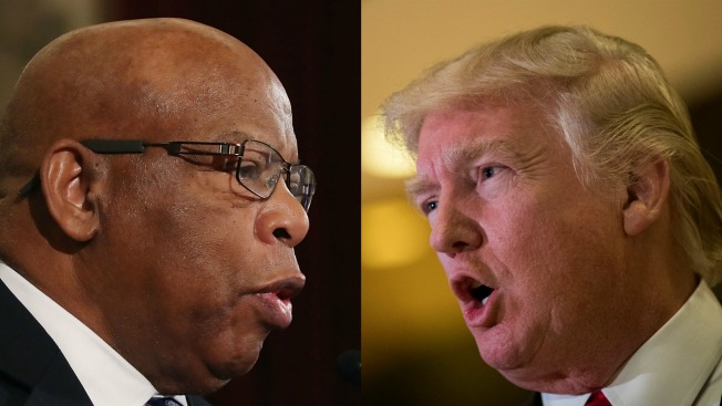 Rep. Lewis: I Would Not Invite Trump to Selma