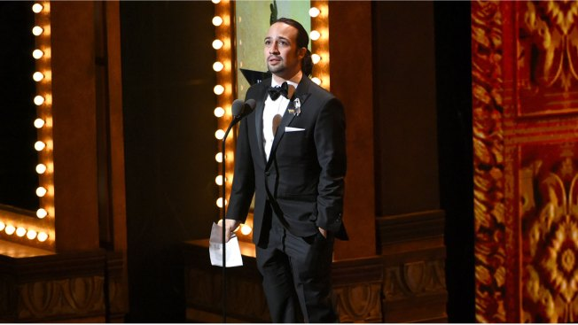 'Hamilton' Sweeps up Awards at a Sometimes Somber Tonys