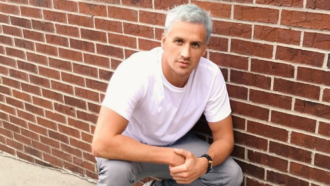 Ryan Lochte Dyes His Hair Ice-Blue for Rio Olympics