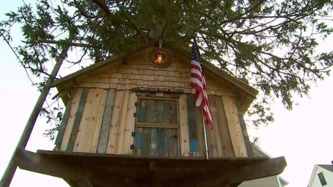 Long Island Boys Birthday Gift Treehouse Leads To Court Fight