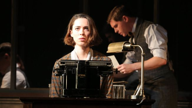 "Review: Rebecca Hall Makes Broadway Debut in Roundabout's Leaden ""Machinal"""