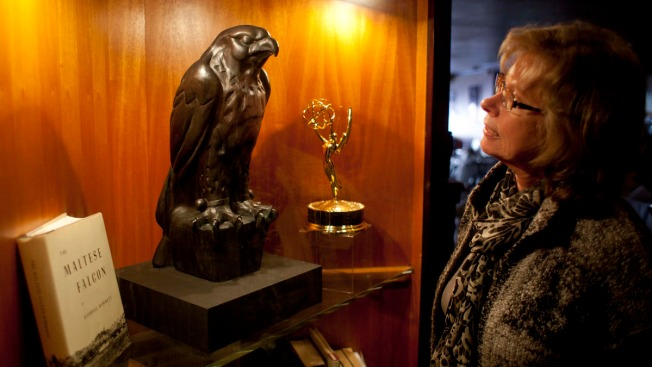 """Maltese Falcon"" Statuette Being Auctioned in New York City"