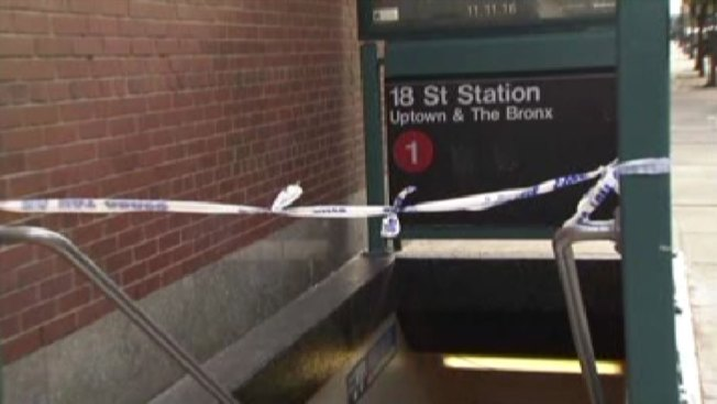 Police make arrest after man pushed onto subway tracks in Chelsea