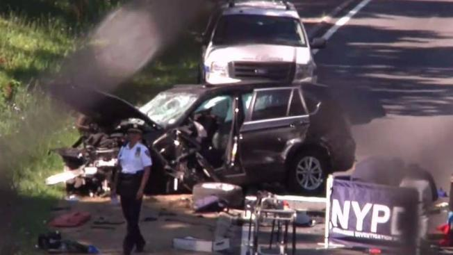 Bmw Driver Was Drunk Speeding After Wedding In Nyc Highway Crash