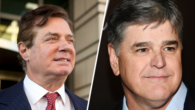 Manafort and Hannity Exchanged Hundreds of Text Messages About Mueller-Russia Probe