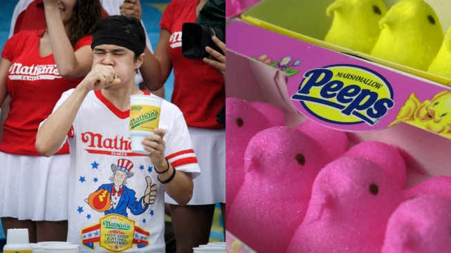 Man Shatters World Record, Devours 255 Peeps in 5 Minutes