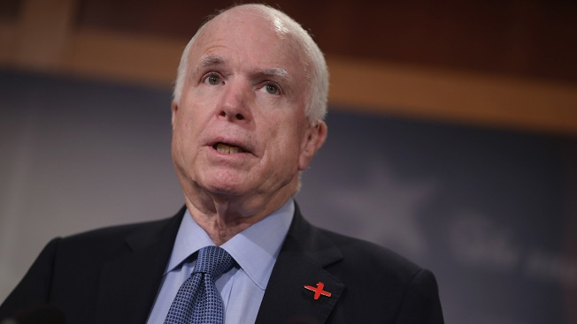 Trump Lashes Out at McCain Seven Months After Senator's Death