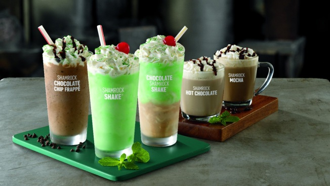 Shamrock Shake-Up: McDonald's Adds Chocolate Flavors to Its St. Patrick's Day Drinks