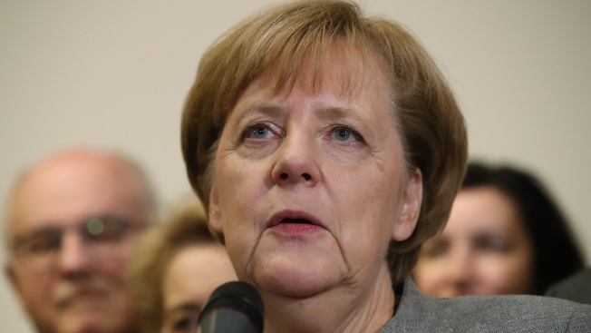 Merkel: Europe Will Push Back if Hit With Trade Tariffs
