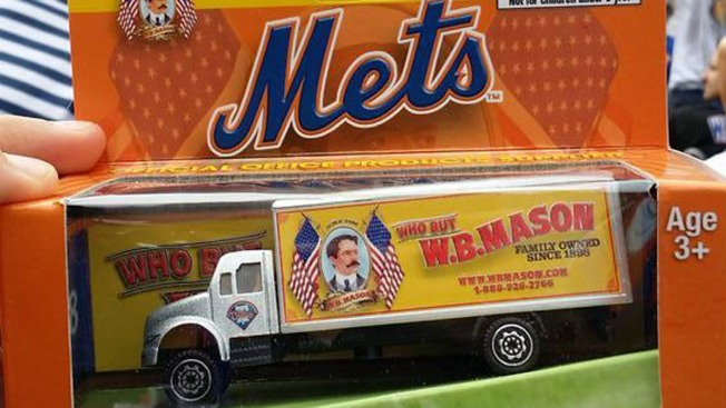 Mets Give Out Promotional Truck With Division Rival Phillies' Logo