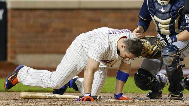 David Wright Beaned, Mets Fall 4-2 to Brewers
