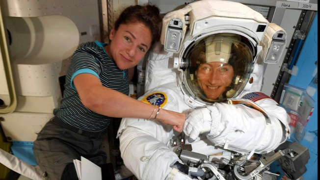 NASA Moves Up 1st All-Female Spacewalk to Fix Power Unit