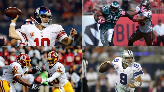 Eagles, Cowboys Wins Push Giants to the Edge of NFC East Picture