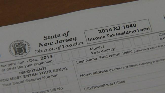 Survey Says New Jersey Has Highest Tax Burden Nbc New York