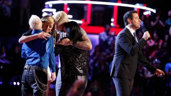 "Final Three Headed to ""The Voice"" Finale"