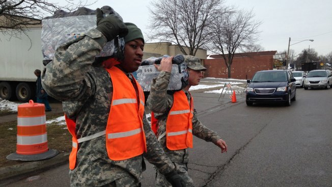 Despite Outcry, Flint Homes Still Have Lead Pipes