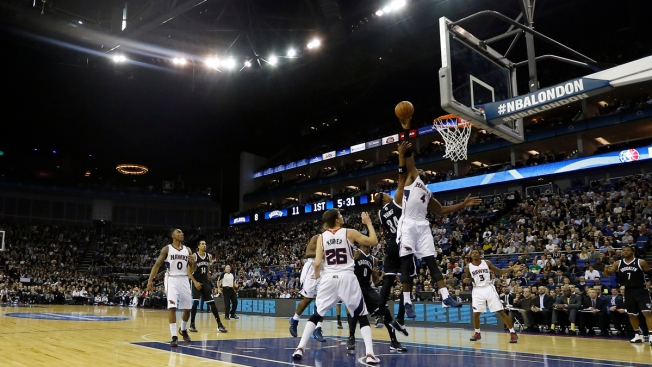 Nets Win Again in London, Beat Hawks 127-110