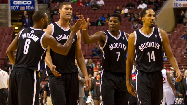 Nets Romp Past Sixers 127-97 in Preseason