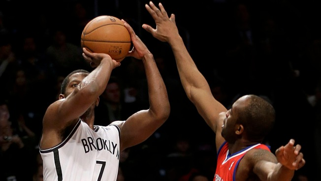 Joe Johnson Makes 10 3-Pointers as Nets Rout Sixers 130-94