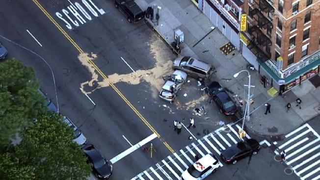 1 Killed, 2 Hurt in Washington Heights Crash: NYPD