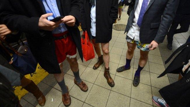 No Pants? You Won't Be Alone on the Subway on Sunday