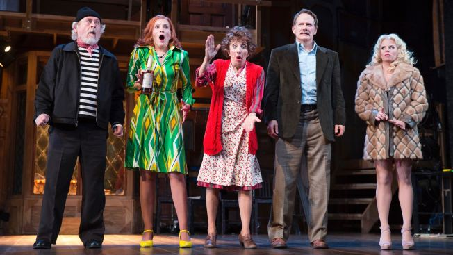 Roundabout Makes a Slam Dunk With 'Noises Off'