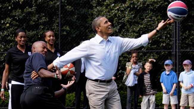 Obama's High School Basketball Jersey Sells for $120,000 at Dallas Auction