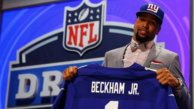 Giants Take LSU's Odell Beckham Jr. With No. 12 Pick