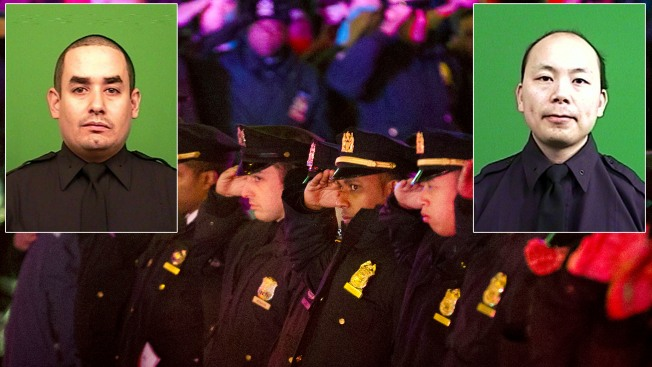 """Officers Killed in Brooklyn """"Paid the Ultimate Sacrifice"""": Bratton"""
