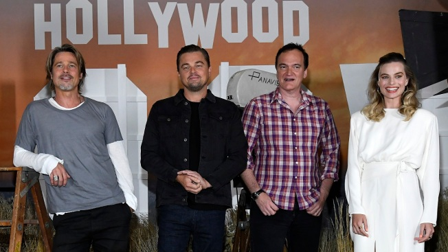 Pitt, DiCaprio and Robbie Reconcile a Changing Hollywood