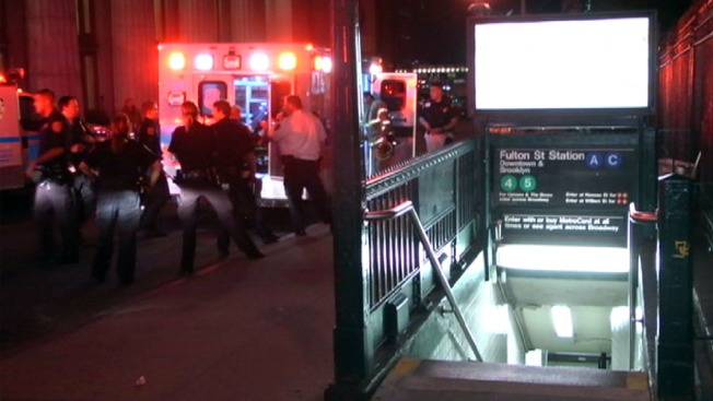 NYPD Officer Hurt Helping Person Hit by Manhattan Subway Train: Officials