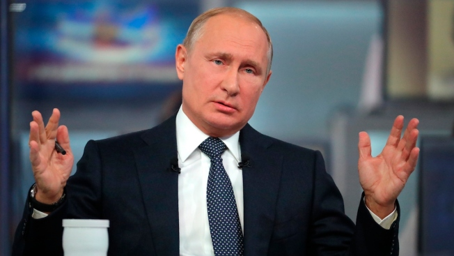 Putin Says Russian Military Not Building Long-Term in Syria