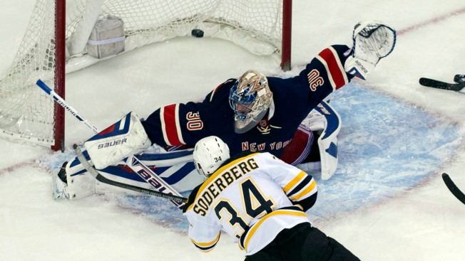 Rangers Fall to Bruins 6-3