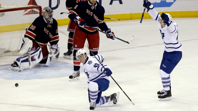 St. Louis' Rangers Debut Spoiled by Maple Leafs