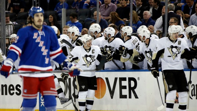 Rangers Shut Out by Crosby, Penguins