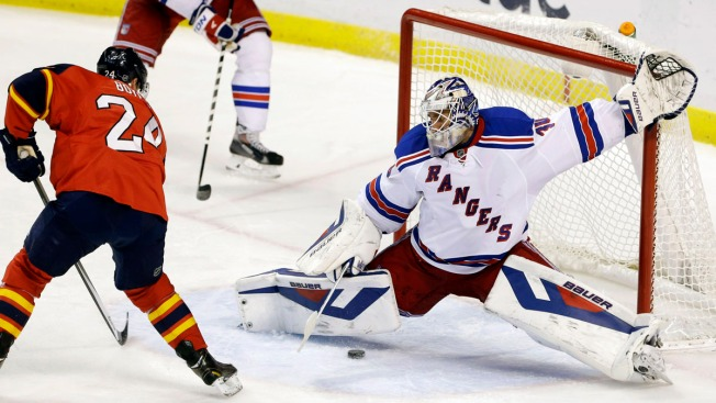 Brad Richards' Shootout Goal Lifts Rangers Over Panthers 2-1