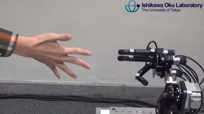 WATCH: This Robot Can Beat You at Rock, Paper, Scissors