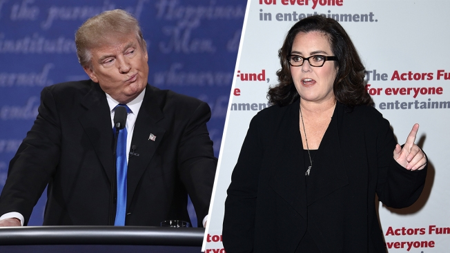 Rosie O'Donnell Fires Back At Trump After Debate Jab