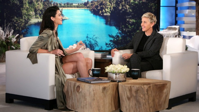 Kendall Jenner Makes her First Appearance on 'Ellen'