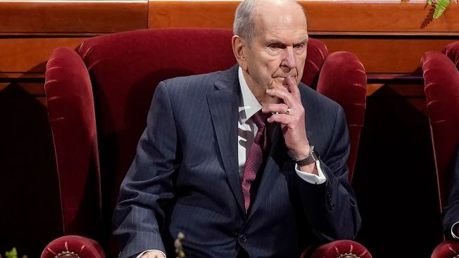 Mormon Leader Reaffirms Church's Opposition to Gay Marriage