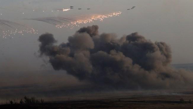 Russia Flies Drones Over Syria: U.S. Officials