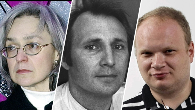 A Look at Some Russian Journalists Attacked or Killed