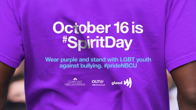 Go Purple for Spirit Day