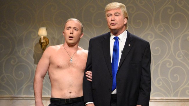Watch That SNL Donald Trump Impression Finally Break Alec Baldwin