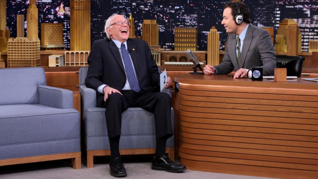 'Tonight Show': Bernie Sanders Calls FDR a 'Great President'