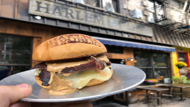 This Harlem Bar's Peanut Butter Burger Is Not Your Ordinary Burger