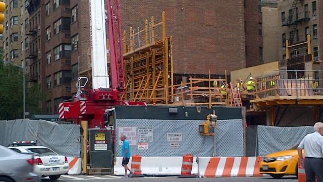 Worker Falls at Second Avenue Subway Site: MTA