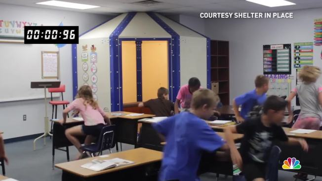 Are bulletproof classroom shelters the answer to gun for Furniture design classes nyc
