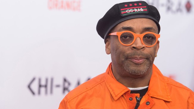 Spike Lee Rips Rahm Emanuel on 'Chi-Raq' Orange Carpet