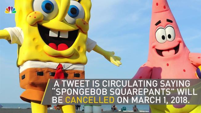 The rumors are fake spongebob squarepants is not being no spongebob squarepants is not ending in march voltagebd